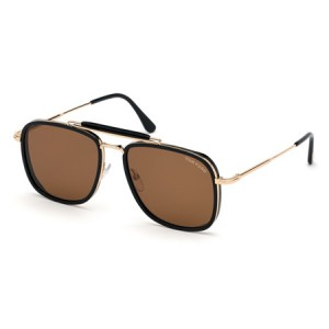 Occhiali da Sole Tom Ford Huck Nero ft0665 01e