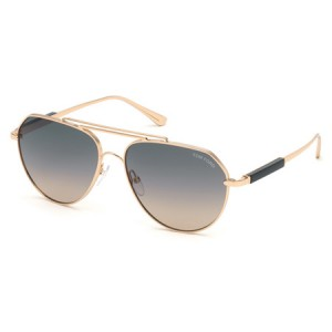 Occhiali da Sole Tom Ford Andes Oro ft0670 28b