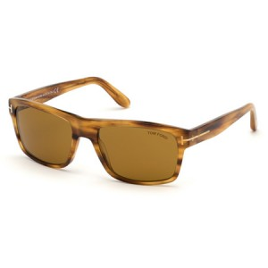 Occhiali da Sole Tom Ford August Marrone ft0678 45e
