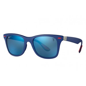 Occhiali da Sole Ray Ban Scuderia Ferrari Collection Blu rb4195m f604h0